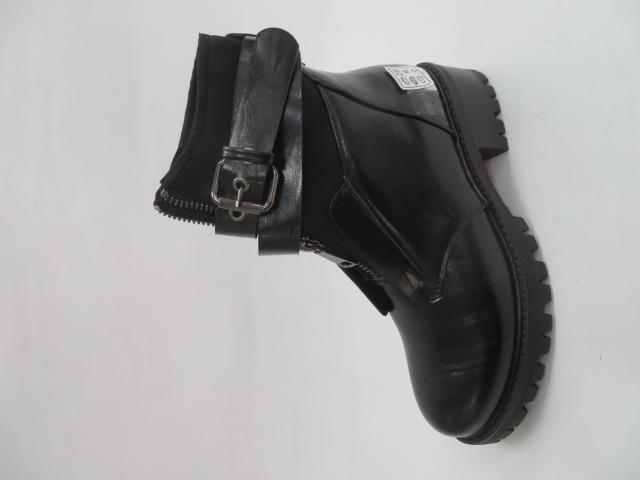 Botki Damskie F17-36212, Black, 36-41