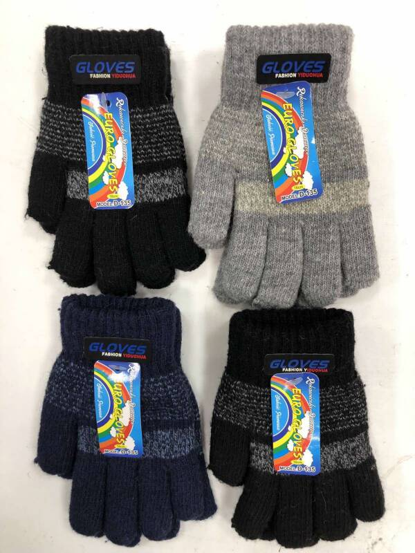 Rękawiczki Dziecięce D135 MIX KOLOR 16CM