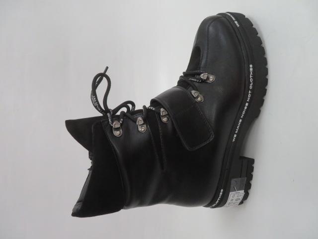 Botki Damskie F19-7758, Black, 36-41