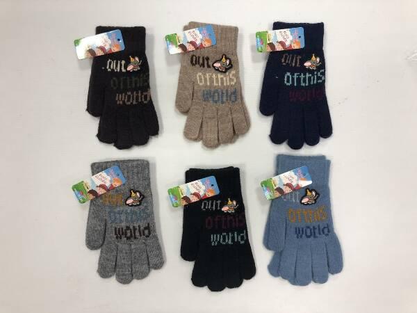 Rękawiczki Dziecięce D197 MIX KOLOR 17CM