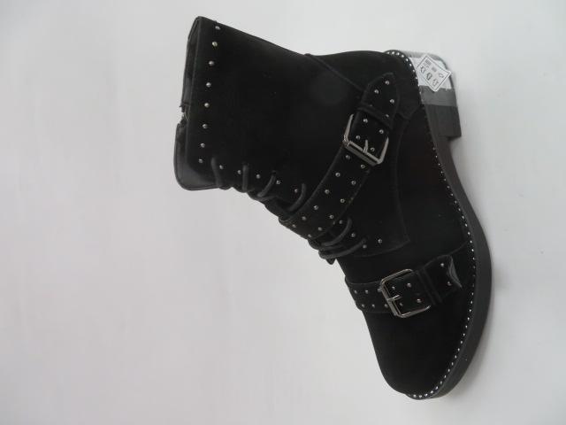 Botki Damskie F19-60710-3, Black, 36-41