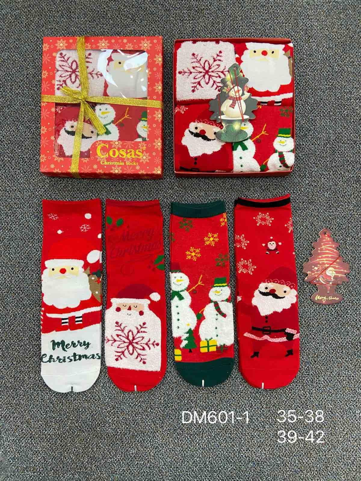 Skarpety Damskie DM601-1 MIX WZÓR 35-42 1