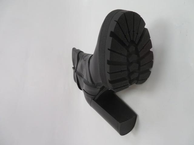 Botki Damskie M078-1, Black, 36-41 3
