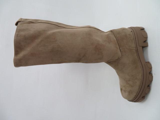 Kozaki Damskie HBL-17, Khaki, 36-41