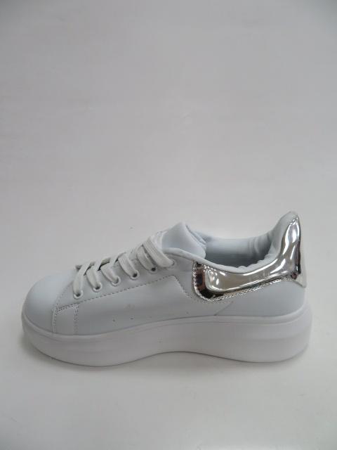 Sportowe Damskie 8060, White/Silver, 36-41 2
