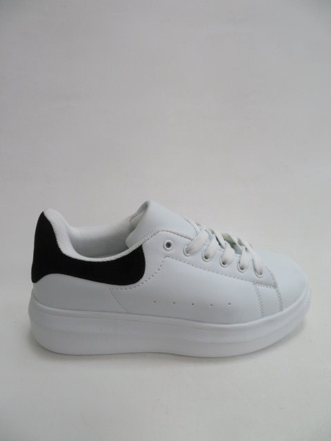 Sportowe Damskie 8060, White/Black, 36-41