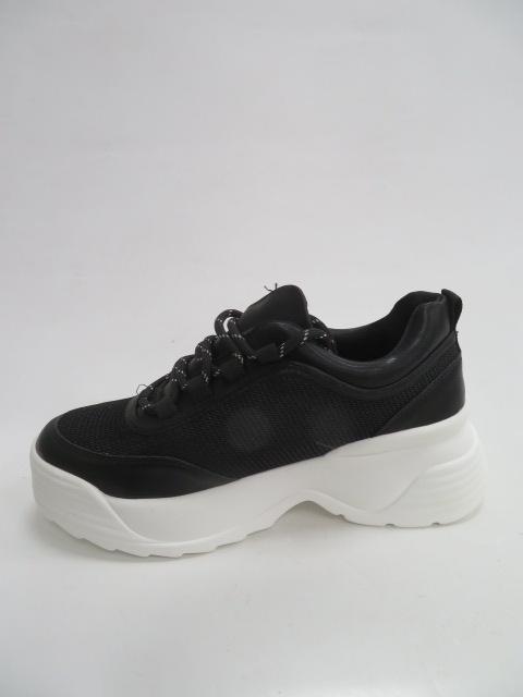 Sportowe Damskie 7923-Y, Black , 36-41