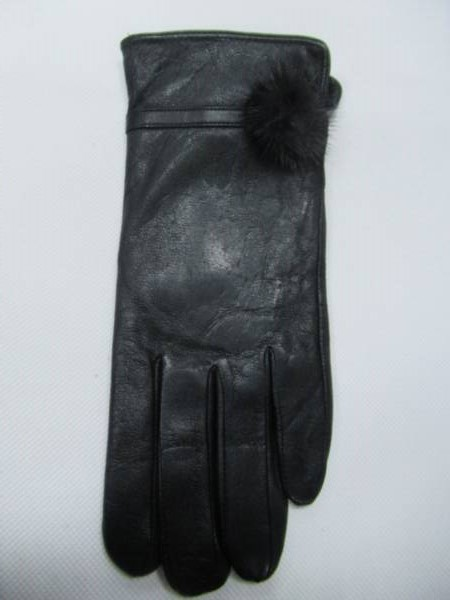 Rękawiczki Damskie F10-7 1 KOLOR 7-8,5 ( Skóra Naturalna )