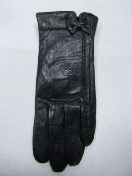 Rękawiczki Damskie F10-5 1 KOLOR 7-8,5 ( Skóra Naturalna )