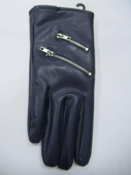 Rękawiczki Damskie F-6 MIX KOLOR M-L ( Skóra Ekologiczna)