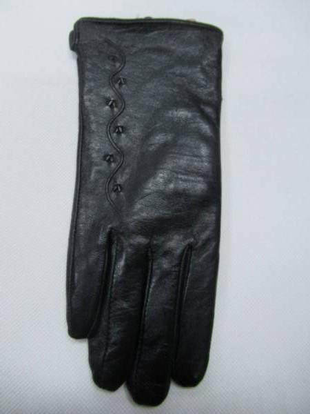Rękawiczki Damskie F001-1 1 KOLOR 7-9 ( Skóra Naturalna )
