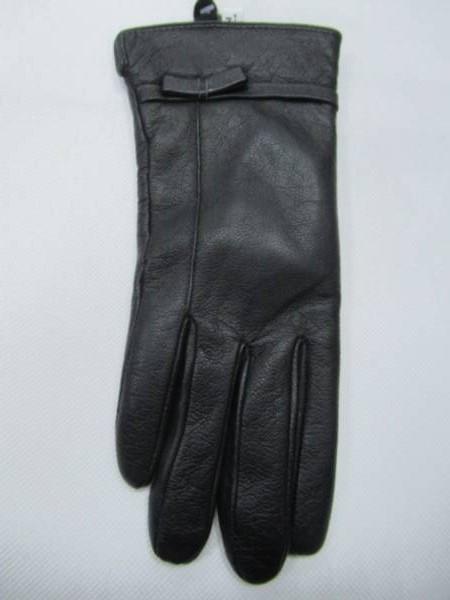 Rękawiczki Damskie F002-5 1 KOLOR 7-9 ( Skóra Naturalna )
