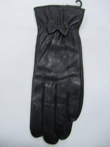 Rękawiczki Damskie F001-6 1 KOLOR 7-9 ( Skóra Naturalna )
