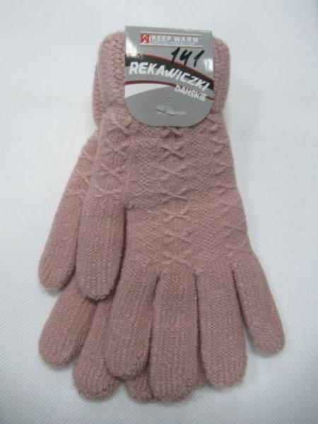 Rękawiczki Damskie 141 MIX KOLOR STANDARD