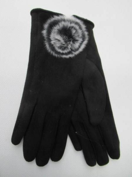Rękawiczki Damskie RS728 MIX KOLOR 7-9( Zamszowe )
