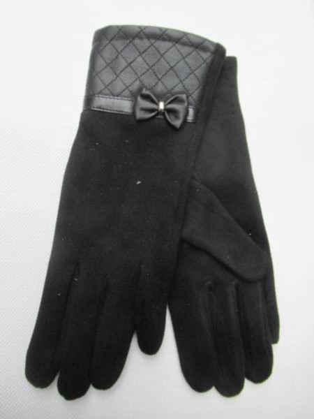 Rękawiczki Damskie 38870 MIX KOLOR 7-9( Zamszowe )