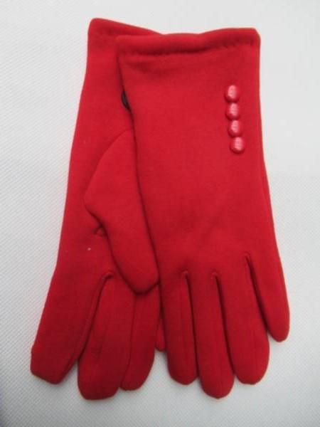 Rękawiczki Damskie HB4 MIX KOLOR 6,5-8,5( Zamszowe )