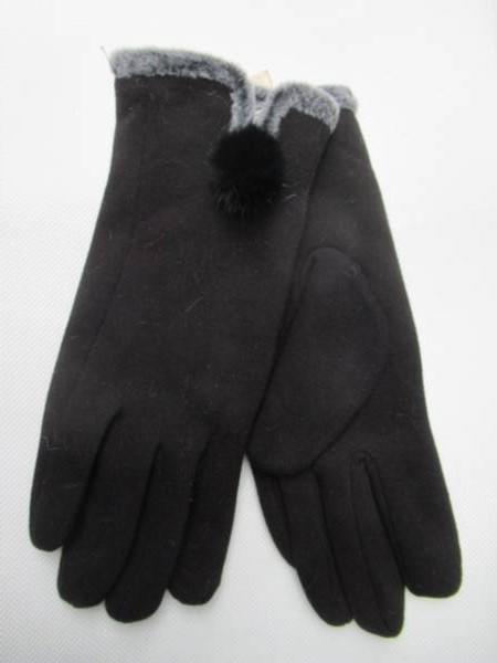 Rękawiczki Damskie HB3 MIX KOLOR 6,5-8,5( Zamszowe )