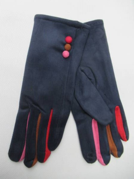 Rękawiczki Damskie C19 MIX KOLOR M-L