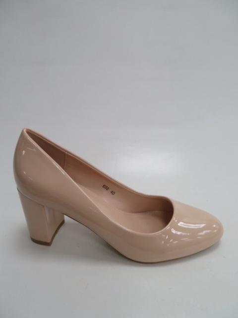 Czółenka Damskie 688, Pink , 36-41