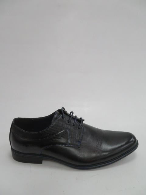Półbuty Męskie MXC 453, Black/Blue, 40-45