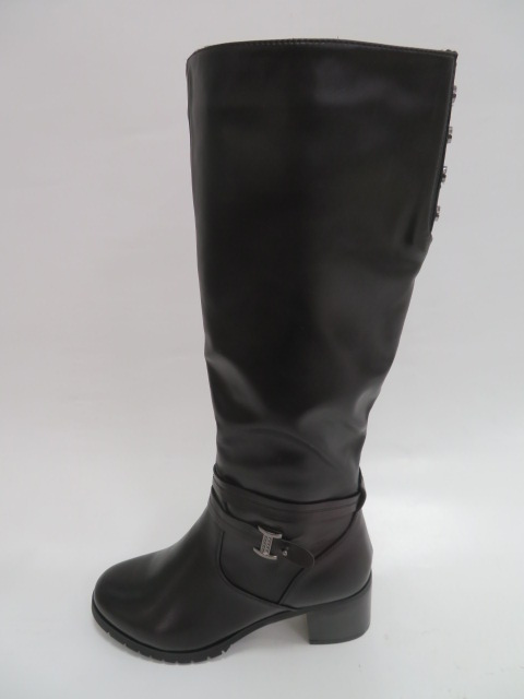 Kozaki Damskie FGF-JX116, Black, 36-41