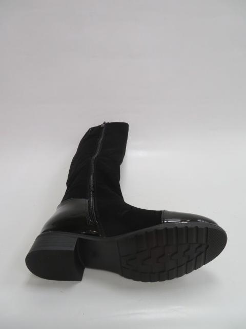 Kozaki Damskie F16006-135, Black, 36-41 3