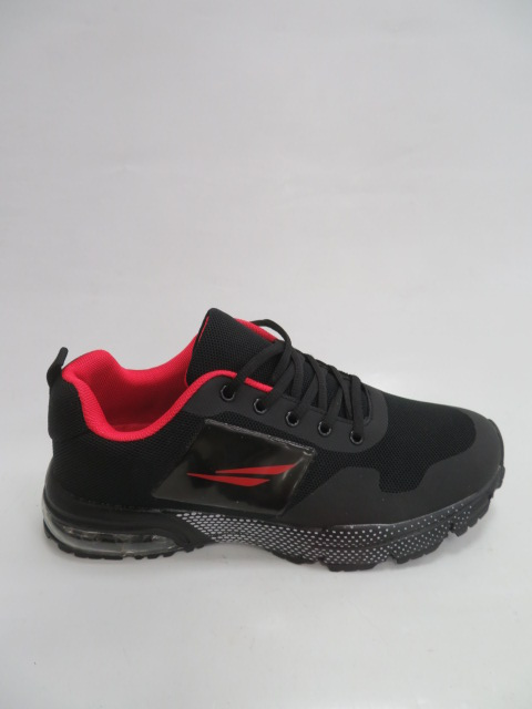 Buty Sportowe Męskie Y2055, Black/Red, 41-46