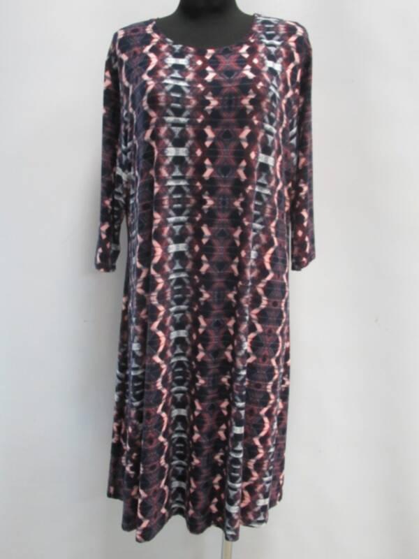 Sukienka Damska F1040 1 KOLOR 46-54 ( Produkt Polski )