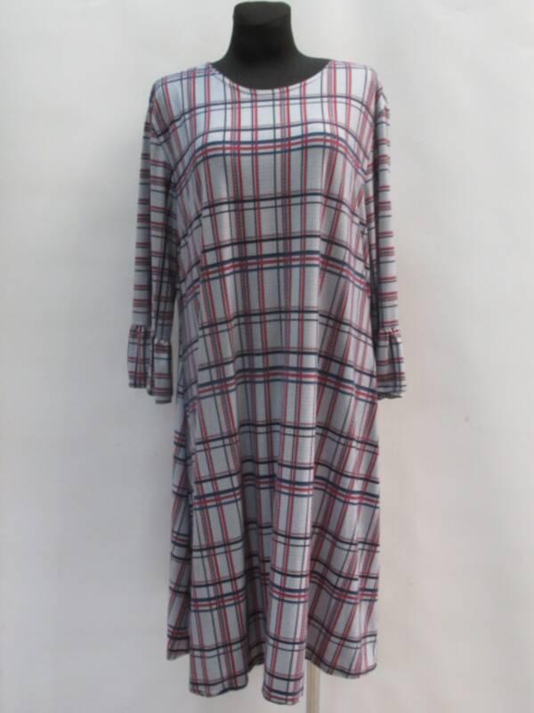 Sukienka Damska F1056 1 KOLOR 46-54 ( Produkt Polski )