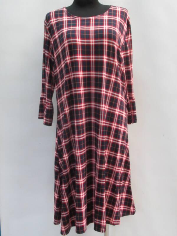 Sukienka Damska F1060 1 KOLOR 46-54 ( Produkt Polski )