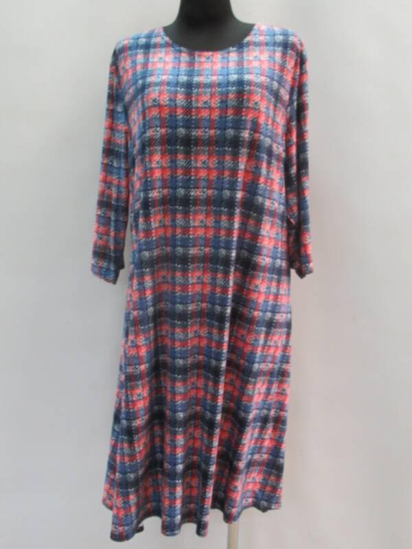 Sukienka Damska F1080 1 KOLOR 46-54 ( Produkt Polski )