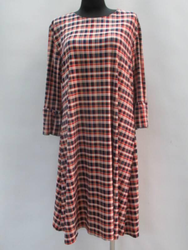 Sukienka Damska F1084 1 KOLOR 46-54 ( Produkt Polski )