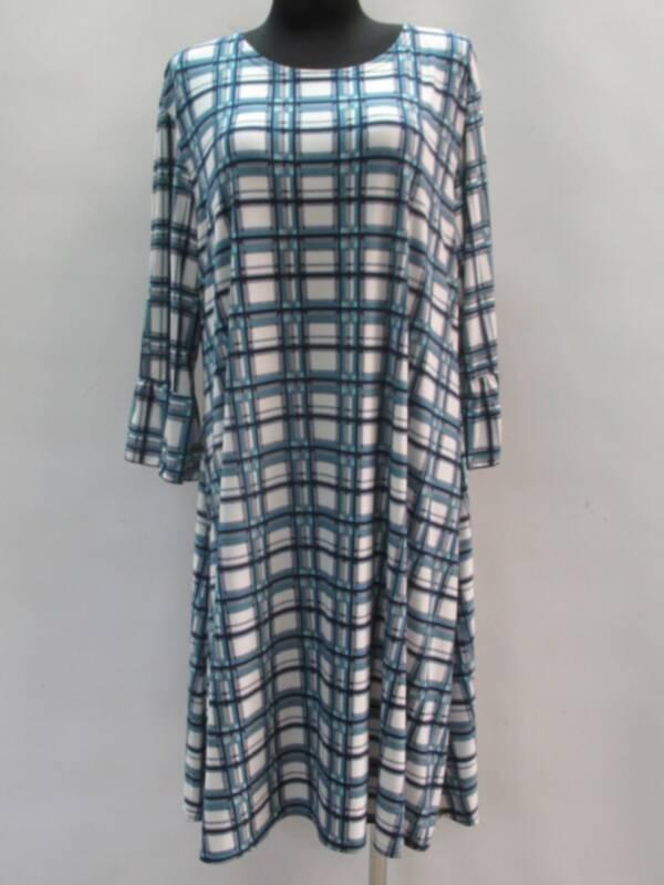Sukienka Damska F1087 1 KOLOR 46-54 ( Produkt Polski )