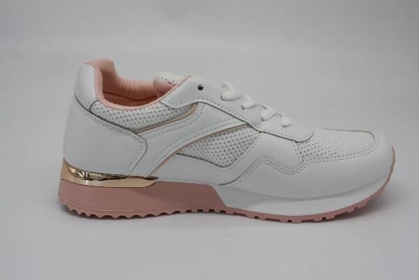 Sportowe Damskie VL-134, White/Pink, 36-41