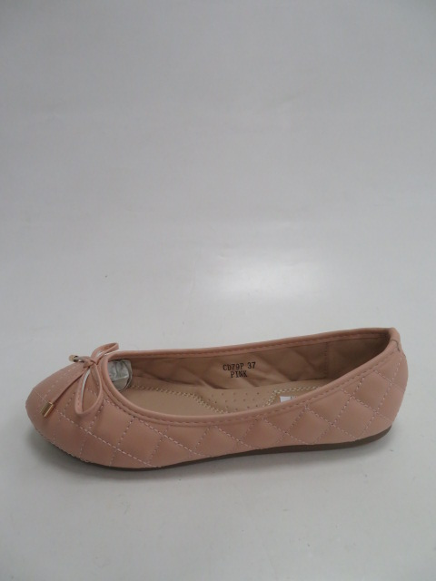 Baleriny Damskie  CD79, Pink, 36-41