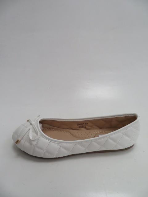 Baleriny Damskie CD79, White , 36-41
