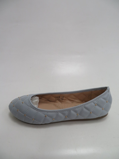 Baleriny Damskie  CD81, L.Blue, 36-41