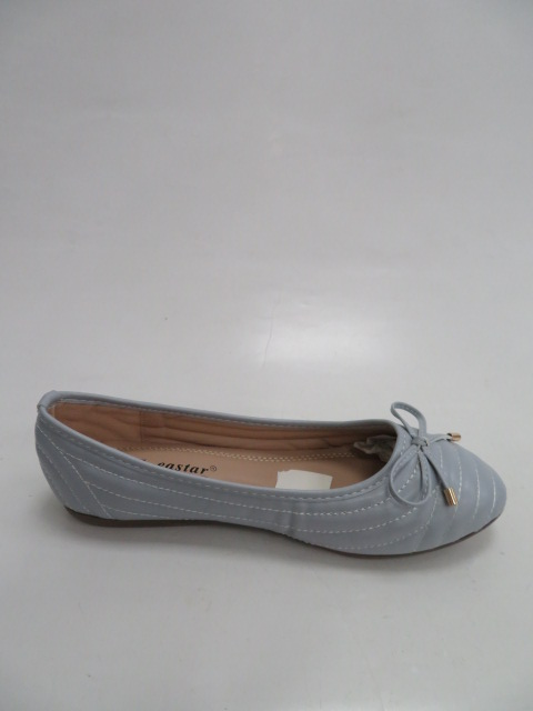 Baleriny Damskie  CD80, L. Blue, 36-41