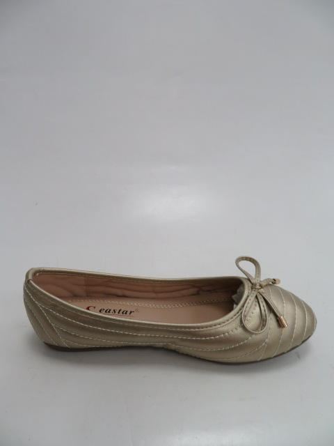 Baleriny Damskie CD80, Gold , 36-41