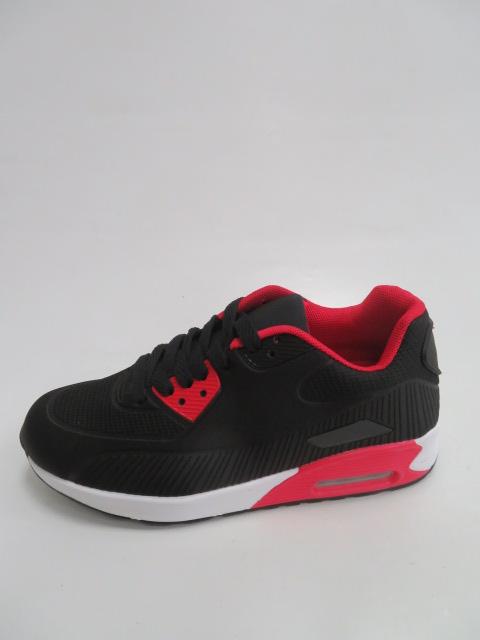 Sportowe Damskie D11-15, Black/Red , 36-41