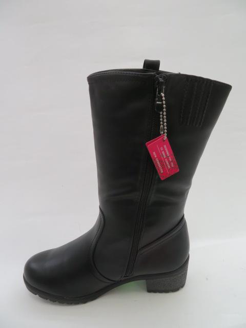 Botki Damskie 8817-6, Black, 36-41
