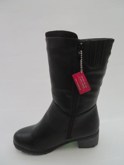 Botki Damskie 8817-5, Black, 36-41