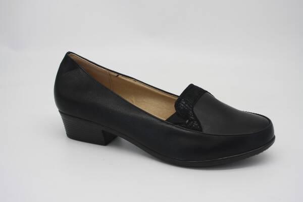 Półbuty Damskie Y192-3, Black, 36-41