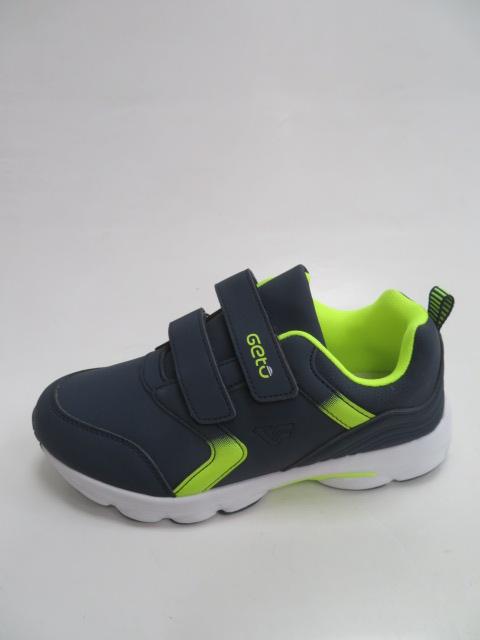 Buty Sportowe Dziecięce F730,  Blue/Green, 31-36