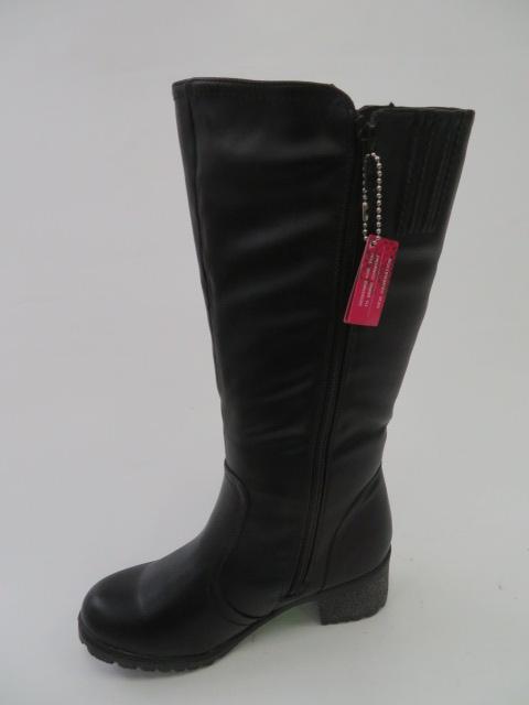 Botki Damskie 8817-2, Black, 39-43