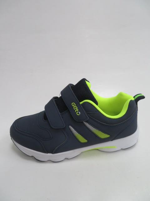 Buty Sportowe Dziecięce F733, Blue/Green, 32-37
