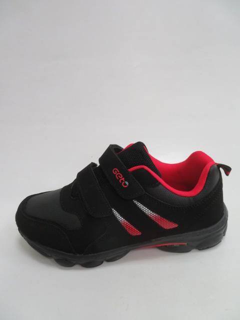 Buty Sportowe Dziecięce F733, Black/Red, 32-37