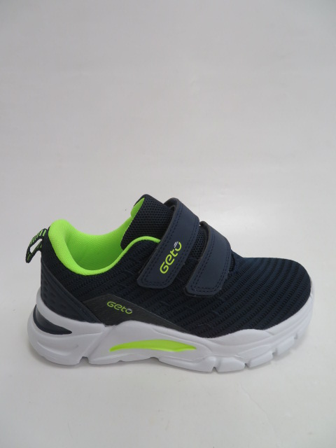 Buty Sportowe Dziecięce F771, Blue/Green, 32-37