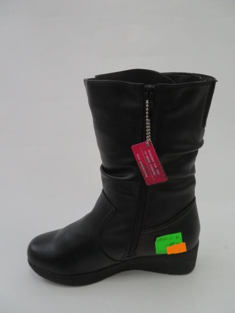 Botki Damskie 88330-21, Black, 36-41